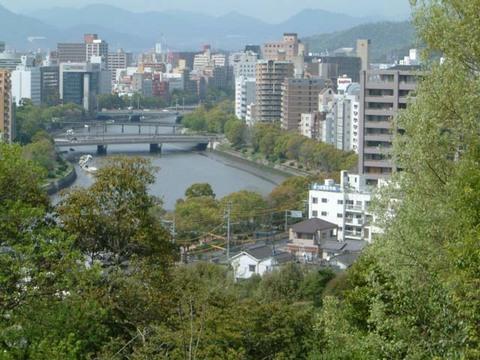 京橋川俯瞰