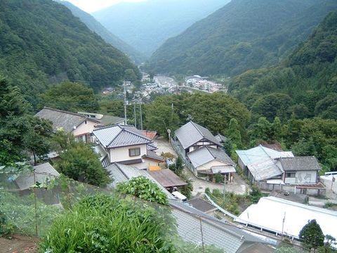 芦安地区の風景