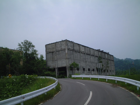 羽幌炭鉱跡