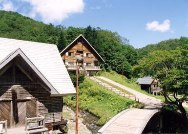 奥美利河温泉山の家