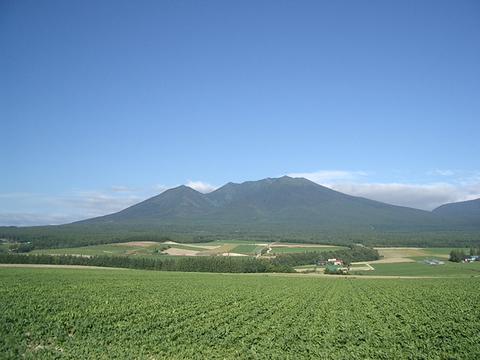 富丘の丘陵地帯