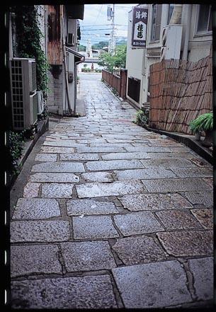 石畳小路(桂馬かまぼこ前)