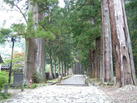 身延山久遠寺とその周辺