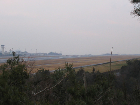 高松空港付近