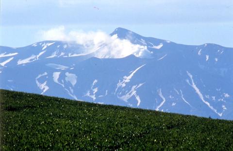 大雪山国立公園、十勝岳
