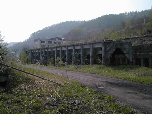 真谷地炭鉱跡