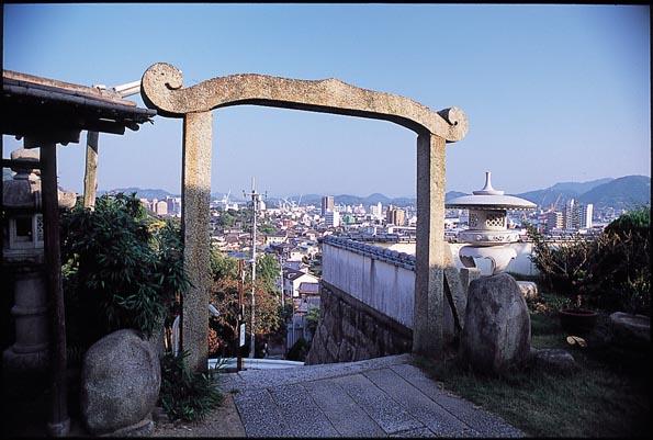 西願寺からの眺め