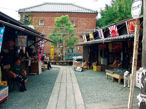 昭和30年代のレトロな町並み