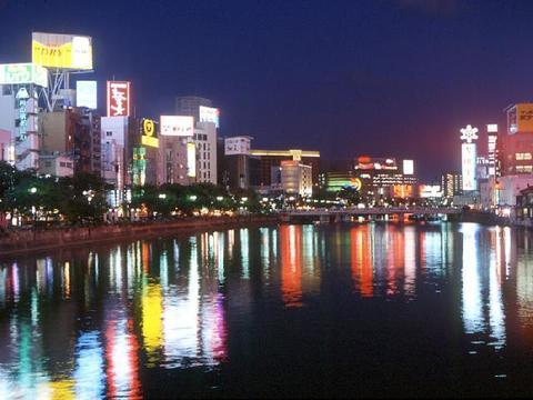 中洲(夜景)