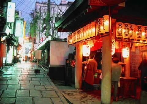 Hozenji-Yokocho Street