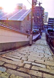 Shimodera and Gensyouji slope