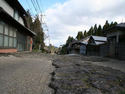 Imaichi stone pavement