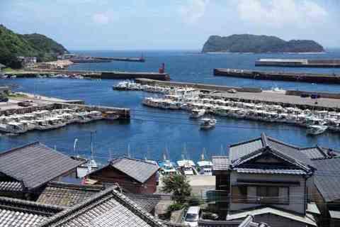 Saganoseki fishing port