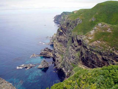天売島西海岸