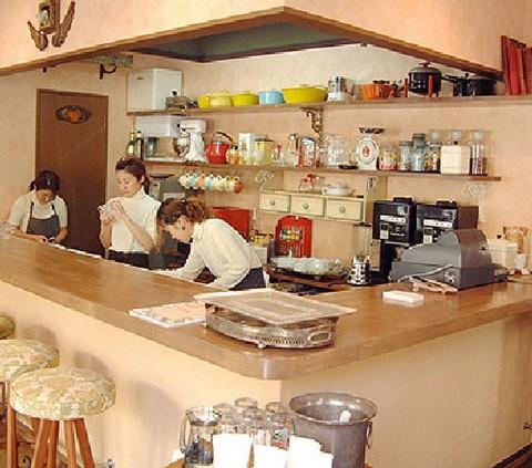 A cafe in Osaka city