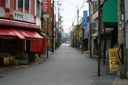 能登川駅前商店街