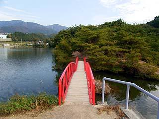 池もある広い公園