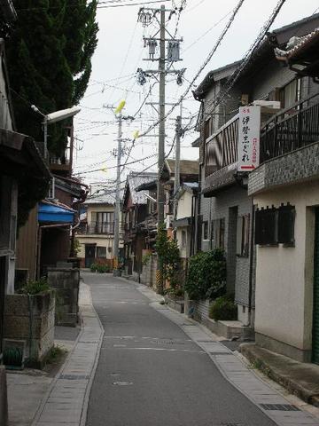 赤須賀の町並み