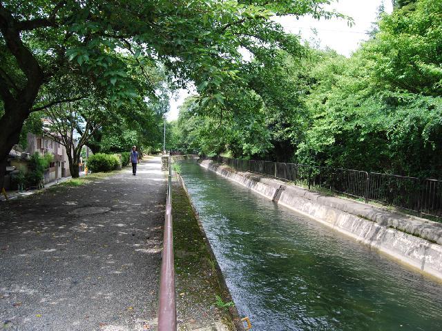 The first canal in Biwako