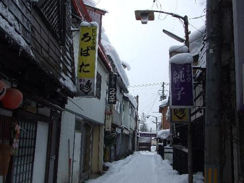 冬の富士通り