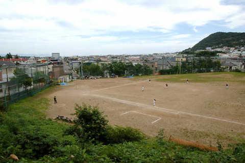 函館八幡宮外苑野球場