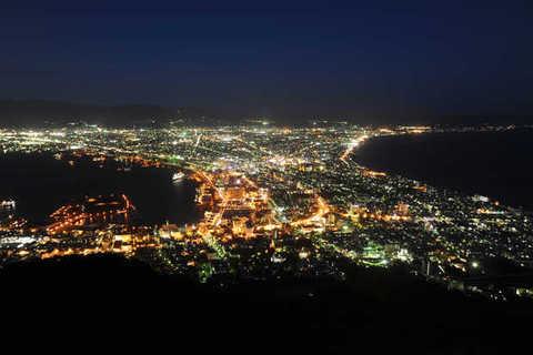 Mt. Hakodate night views