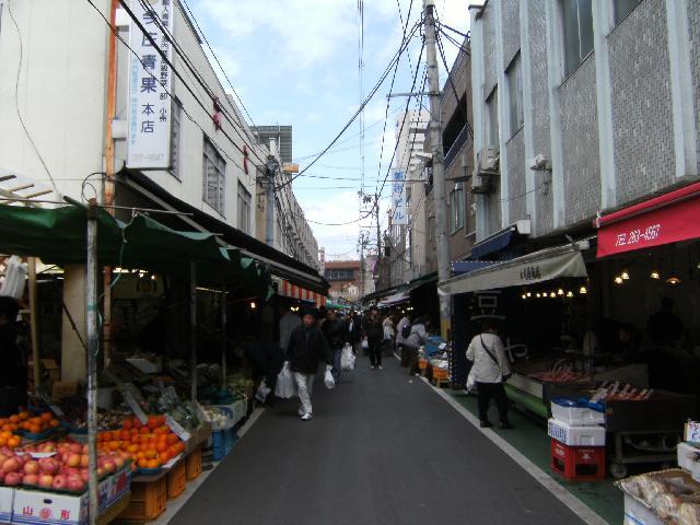 Sendai Asaichi Market