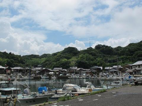 Usuka fishing port