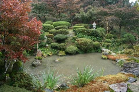 雲龍寺の庭園