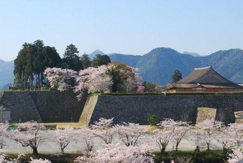asayama Castle Ruins-The Oshoin