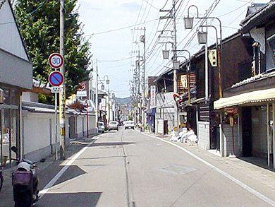 仏生山の町並み