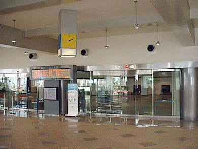 高松空港 到着ロビー