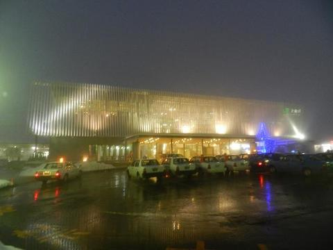 JR大曲駅・夜