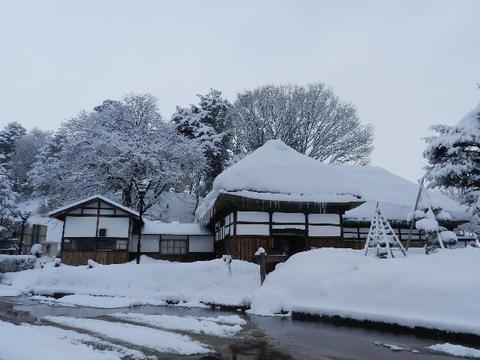 みずほの家・雪景色