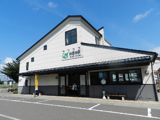 JR奥羽本線・神宮寺駅