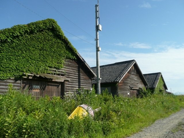 御崎港旧倉庫