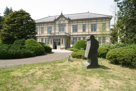 宮澤賢治の出身校でもある盛岡高等農林学校