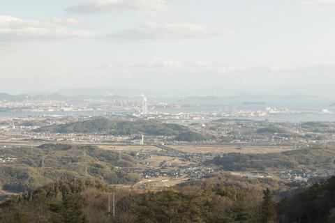 遥照山(ようしょうざん)からの景色