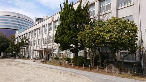 旧内山下小学校(外観)
