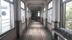 旧内山下小学校(廊下)
