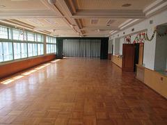 ランチルーム(教室3部屋分の広さ)